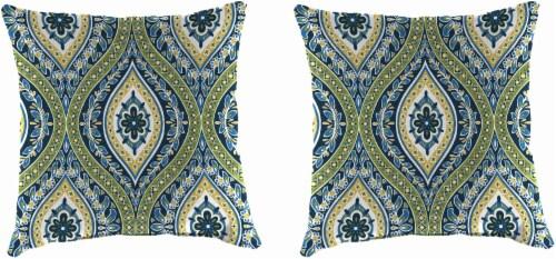 Jordan Manufacturing Toss Pillow - Jasmina Summer Perspective: front