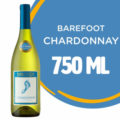 Barefoot Cellars Chardonnay White Wine 750ml Perspective: front