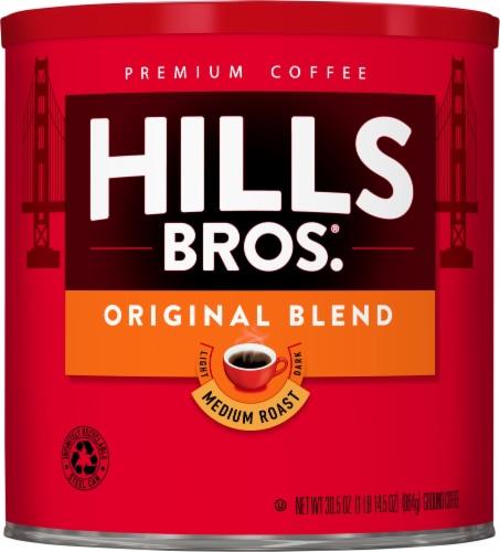 Hills Bros. Original Blend Medium Roast Ground Coffee Perspective: front