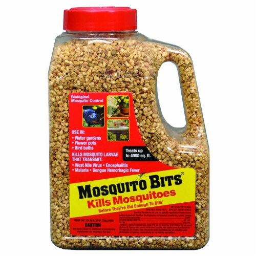 Summit Mosquito Bits Larvae Control Insect Killer Perspective: front