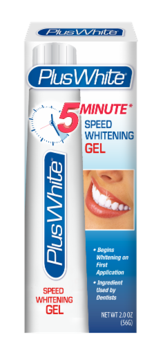 Plus White 5-Minute Premier Speed Whitening Gel Perspective: front