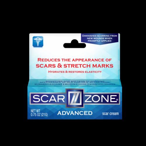Scar Zone Advanced Skin Care Scar Cream Perspective: front