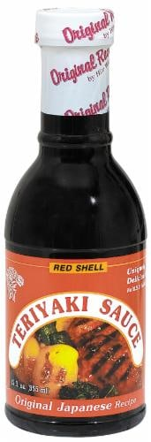 Red Shell Teriyaki Sauce Perspective: front