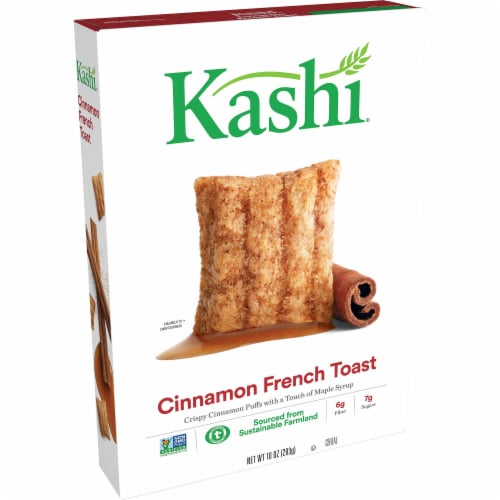 Kashi Cinnamon French Toast Puffed Cereal Perspective: front