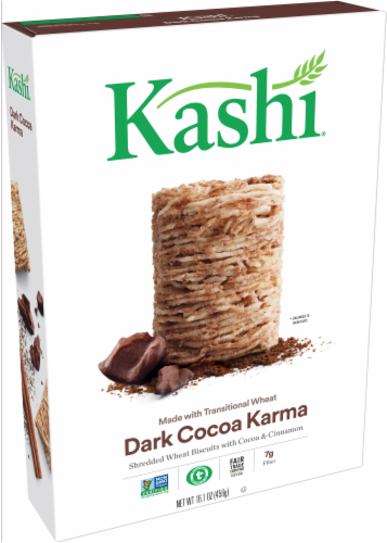 Kashi Dark Cocoa Karma Cereal Perspective: front