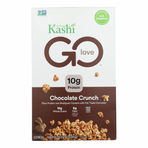 Kashi Cereal - Chocolate Crunch - Case of 8 - 12.2 oz. Perspective: front