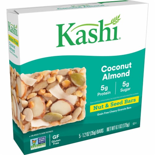 Kashi Grain-Free Gluten-Free Coconut Almond Chewy Granola Bars Perspective: front