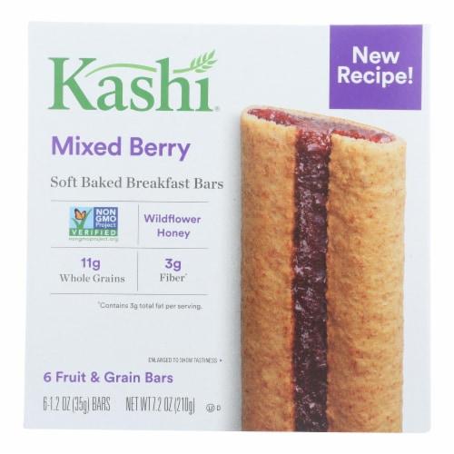 Kashi Blackberry Graham Cereal Bars - Case of 8 - 7.2 OZ Perspective: front