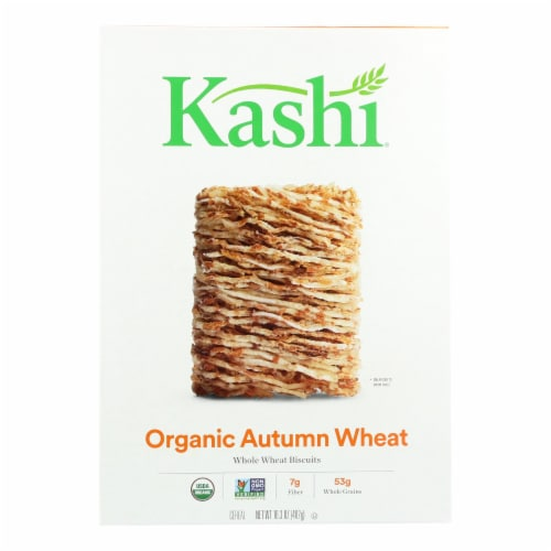 Kashi Autumn Whear Biscuits Cereal Perspective: front