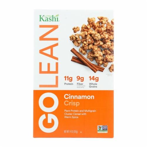 Kashi Cinnamon Crisp Cereal - Case of 12 - 14 oz. Perspective: front