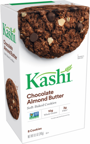 Kashi Chocolate Almond Butter Soft-Baked Cookies Perspective: front