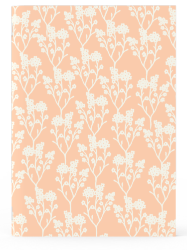 IG Design Floral Notebooks Perspective: front
