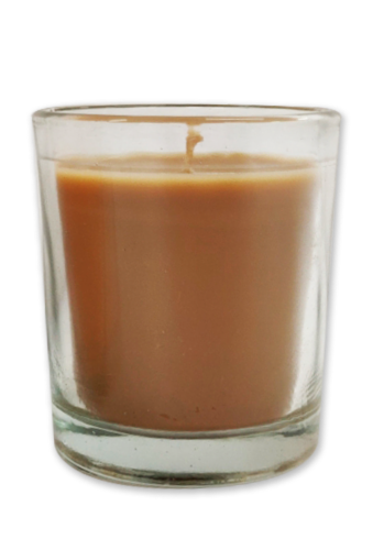 IG Design Votive Candle - Taupe Perspective: front