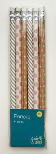 IG Design Wooden Pencils - Hearts Perspective: front
