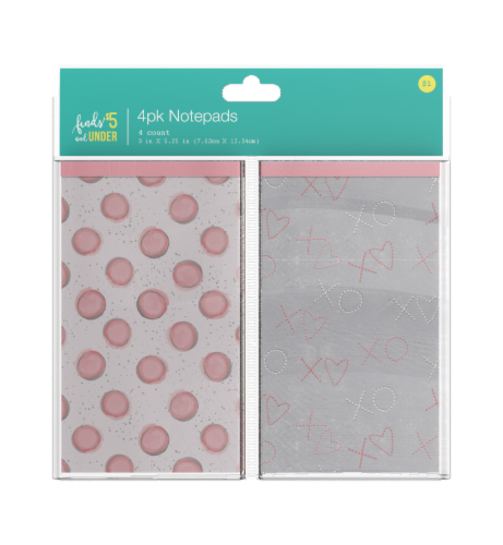 IG Design Patterned Notepads Perspective: front