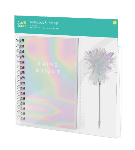 IG Design Notebook and Pen Set - Rainbow Perspective: front