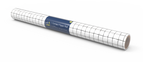 IG Design Contact Paper Roll - Black/White Perspective: front