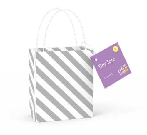 IG Design Tiny Tote Bag - Assorted Perspective: front