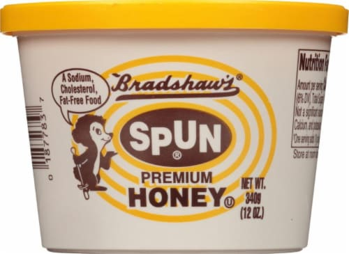 Bradshaw's Spun Premium Honey Perspective: front