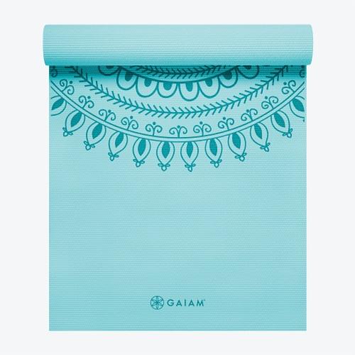 Gaiam Premium Marrakesh Yoga Mat Perspective: front