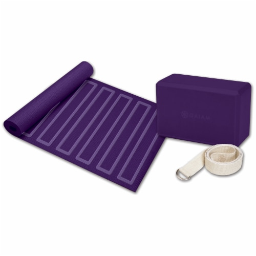 Gaiam Yoga for Beginners Kit Perspective: front