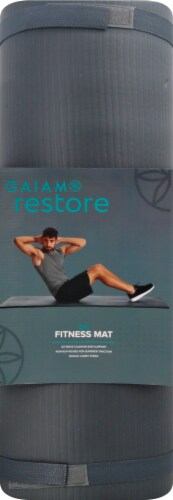 Gaiam Restore Fitness Mat Perspective: front