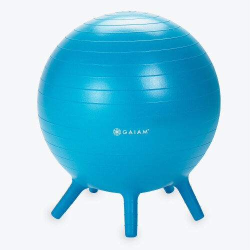 GAIAM Stay-N-Play Ball - Blue Perspective: front