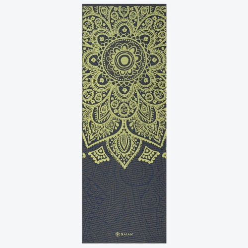 GAIAM Sundial Layers Yoga Mat Perspective: front