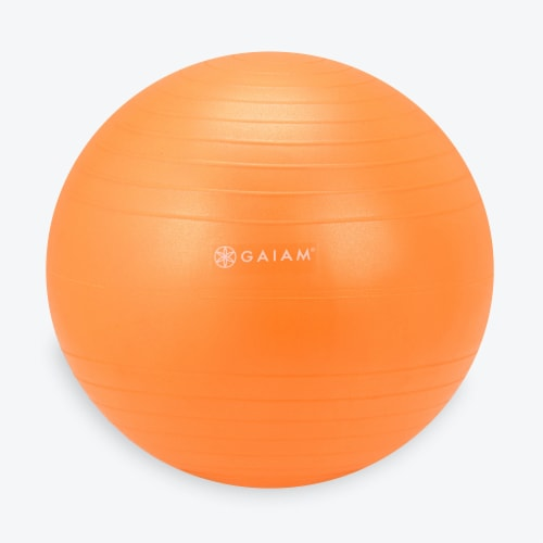 GAIAM Kids Replacement Ball - Orange Perspective: front