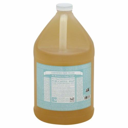 Dr. Bronner's Magic Baby Castile Liquid Soap Perspective: front