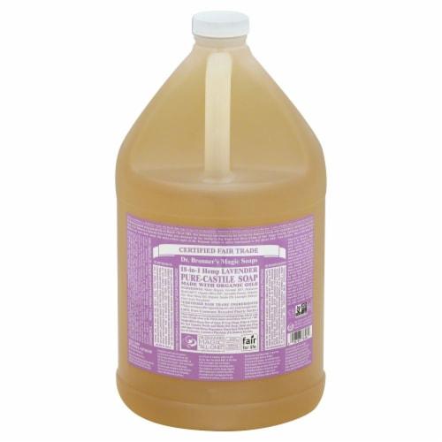 Dr. Bronner's Lavender Castile Liquid Soap Perspective: front