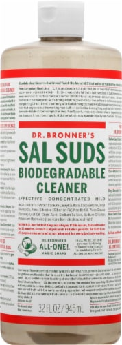 Dr. Broner's Sal Suds Biodegradable Liquid Cleaner Perspective: front