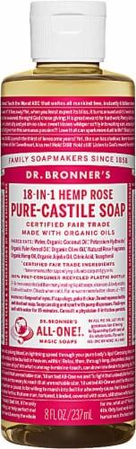Dr. Bronner's Castille Liquid Soap Perspective: front