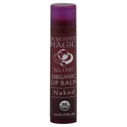 Dr. Bronner's & Sun Dog's Magic Organic Naked Lip Balm Perspective: front