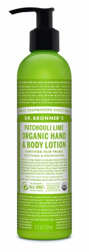 Dr. Bronner's & Sun Dog's Magic Organic Patchouli Lime Lotion Perspective: front