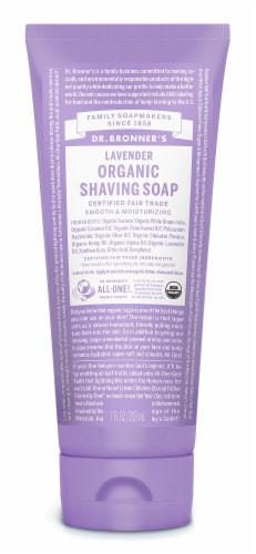 Dr. Bronner's Shave Gel Lavender Ft Perspective: front