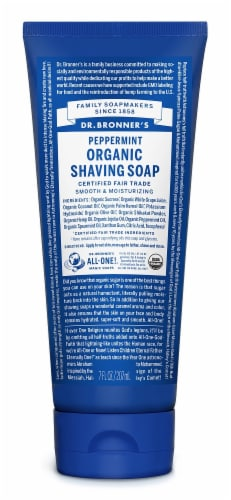 Dr. Bronner's Shave Gel Peppermint Perspective: front
