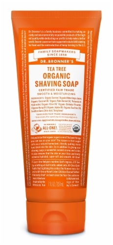Dr. Bonner's Tea Tree Shave Gel Perspective: front