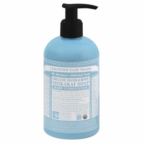 Dr. Bronner's Shikakai Hand And Body Soap Perspective: front