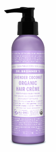 Dr. Bronner's Lavender Coconut Hair Créme Perspective: front