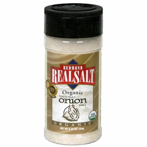 Redmond Real Salt Organic Natural Onion Salt Perspective: front