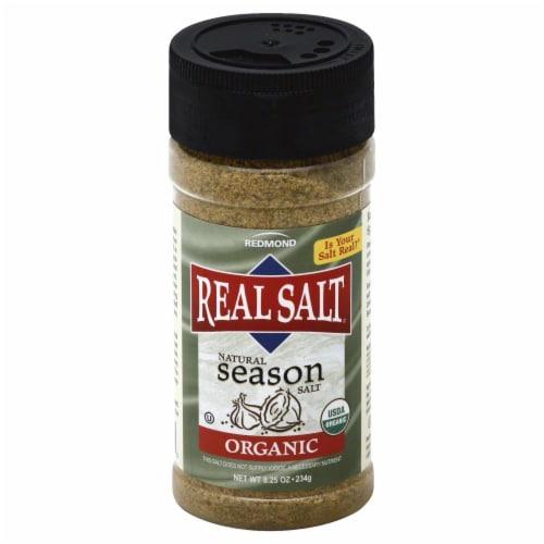 Redmond Real Salt Organic Natural Sea Salt Perspective: front