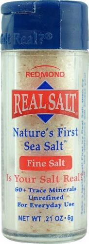 Redmond Real Salt Nature's First Sea Salt Pocket Shaker Perspective: front