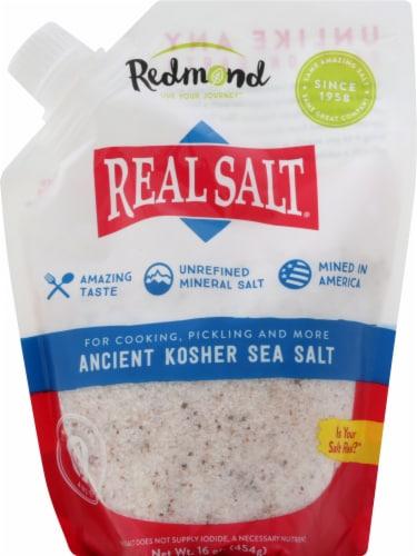 Redmond Real Salt Kosher Salt Perspective: front