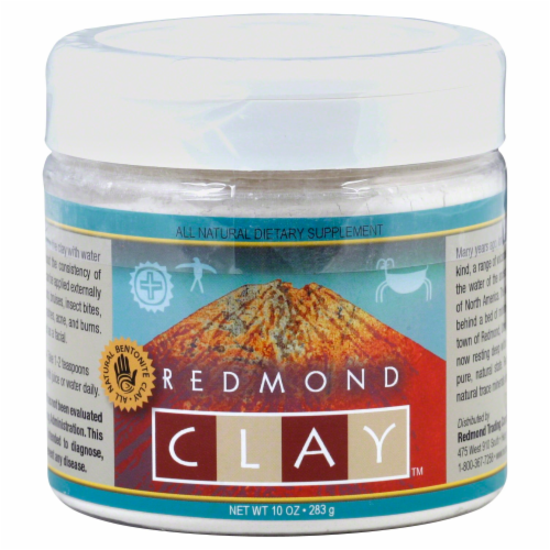 Redmond Clay All Natural Dietary Supplement Perspective: front