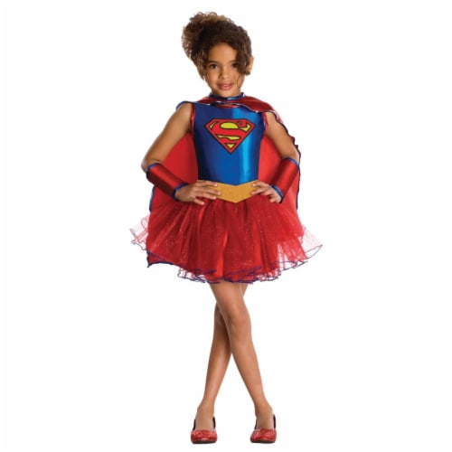 Morris Costume RU881627SM Supergirl Tutu Child Costume, Small Perspective: front