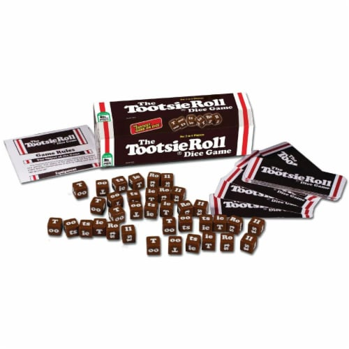 TDC Games The Tootsie Roll Dice Game Perspective: front