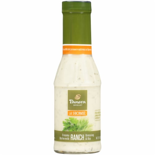 Panera Bread Creamy Buttermilk Ranch Dressing & Dip Perspective: front