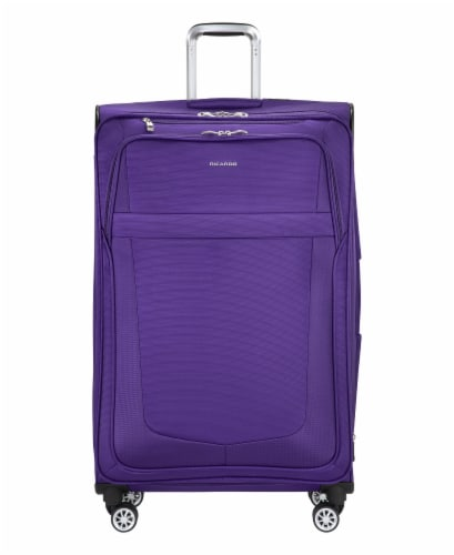 Ricardo Beverly Hills Maywood 4VP Softside Luggage - Iris Purple Perspective: front