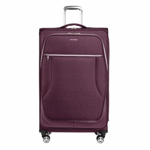Ricardo Beverly Hills Maywood 4WB Softside Luggage - Iris Purple Perspective: front